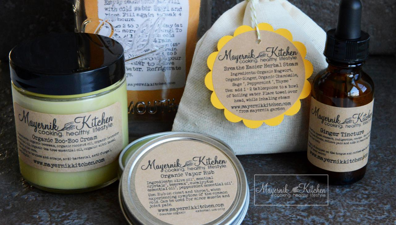 March Out of the Woods Apothecary Box - Mayernik Kitchen
