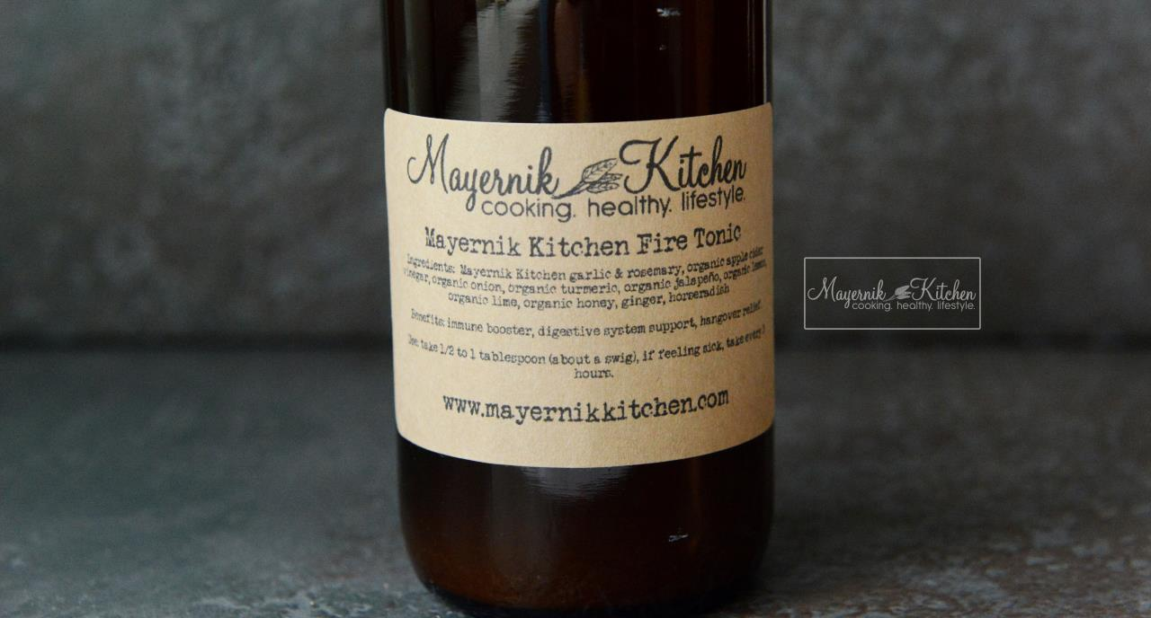 Mayernik Kitchen Fire Tonic - Mayernik Kitchen