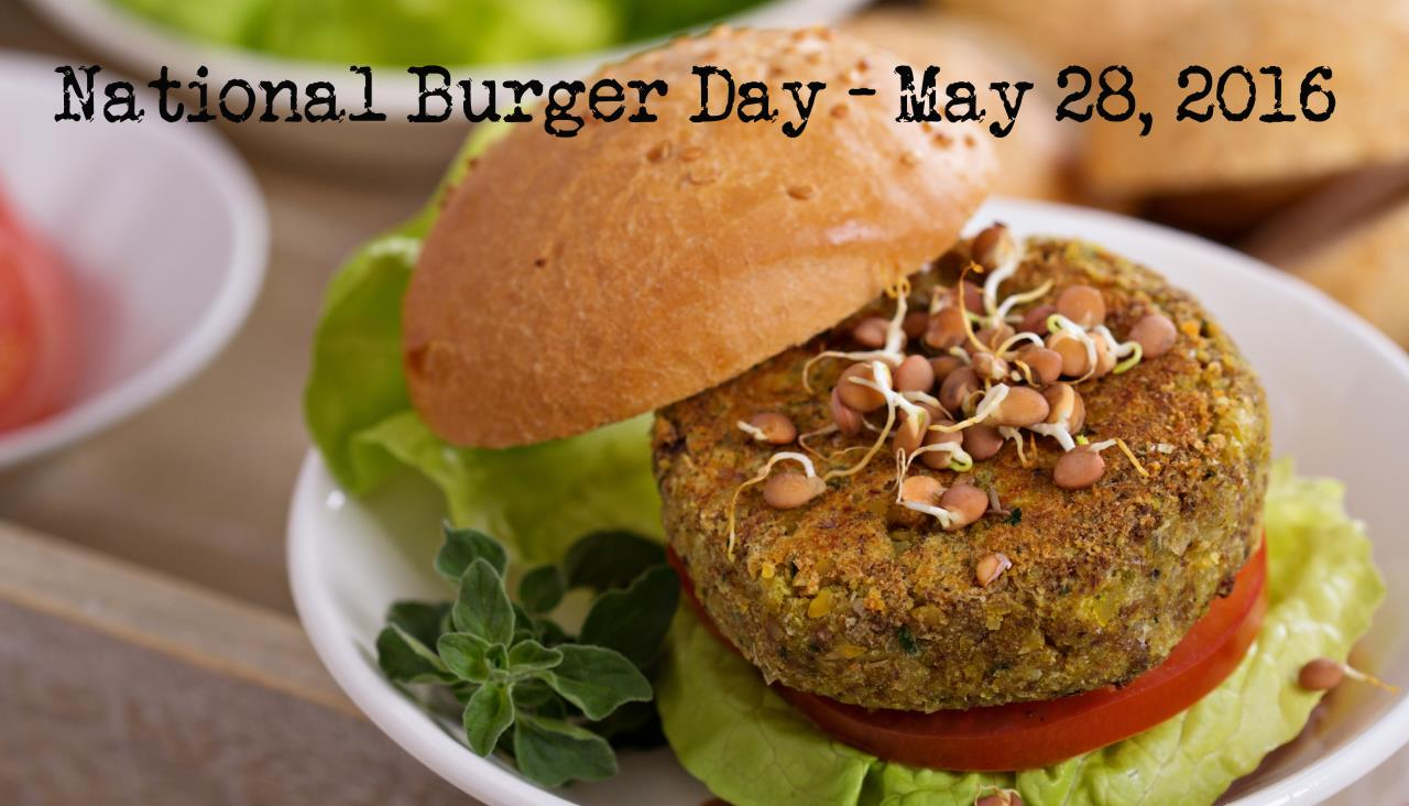 National Burger Day - Meatless - Mayernik Kitchen