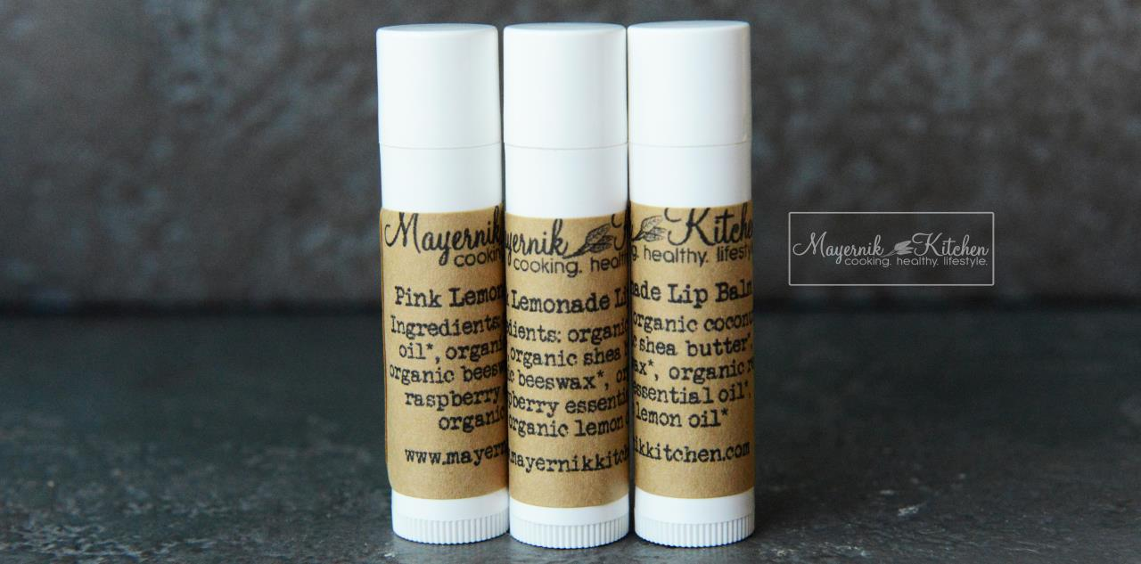 Pink Lemonade Lip Balm - Mayernik Kitchen