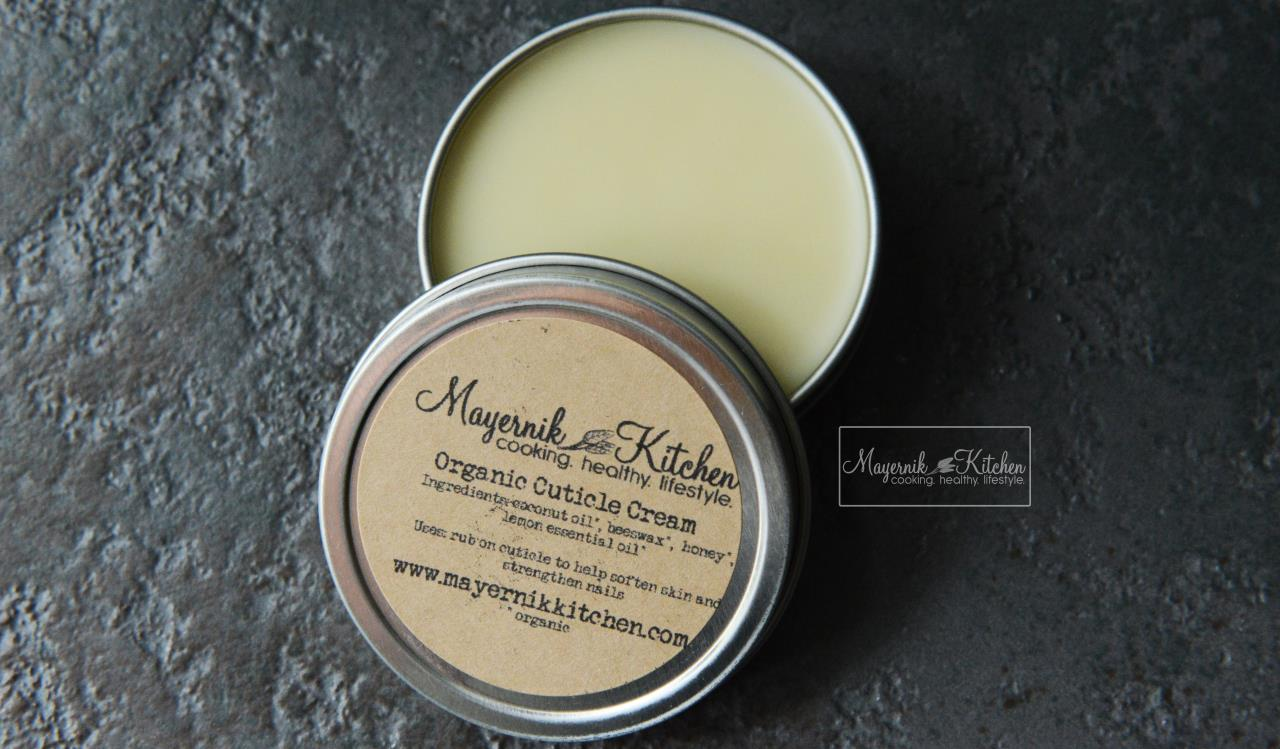 Organic Cuticle Cream - Mayernik Kitchen
