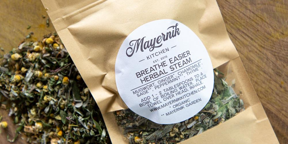 The Herbs in our Breathe Easier Herbal Steam