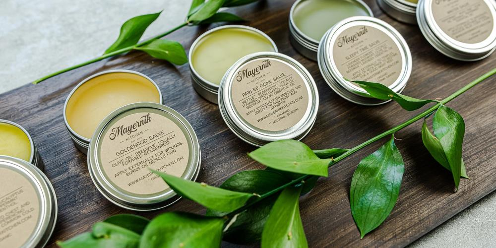 Mayernik Kitchen's Topical Salves