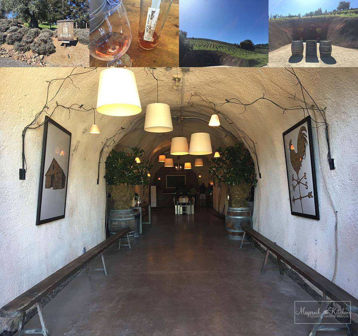 Bella Wine Caves, Dry Creek Valley CA | Mayernik Kitchen