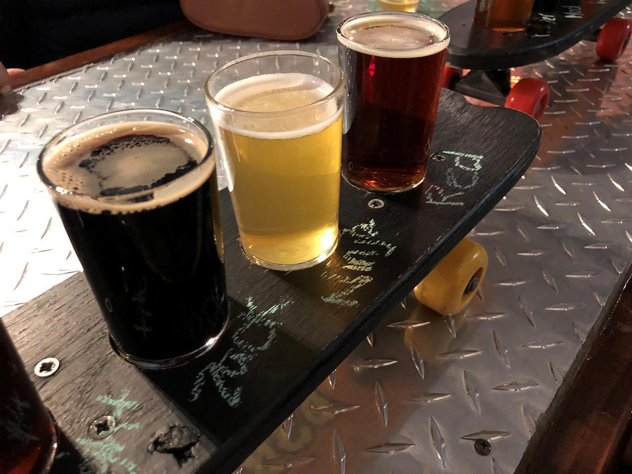 Beers & Skateboard