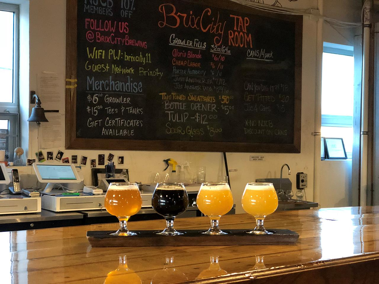 Brix City Brewing Company Beers