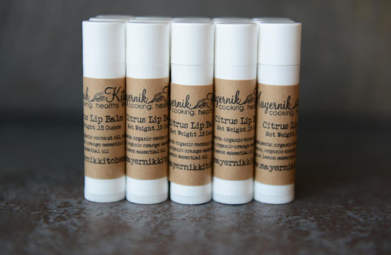 Citrus Lip Balm - Mayernik Kitchen