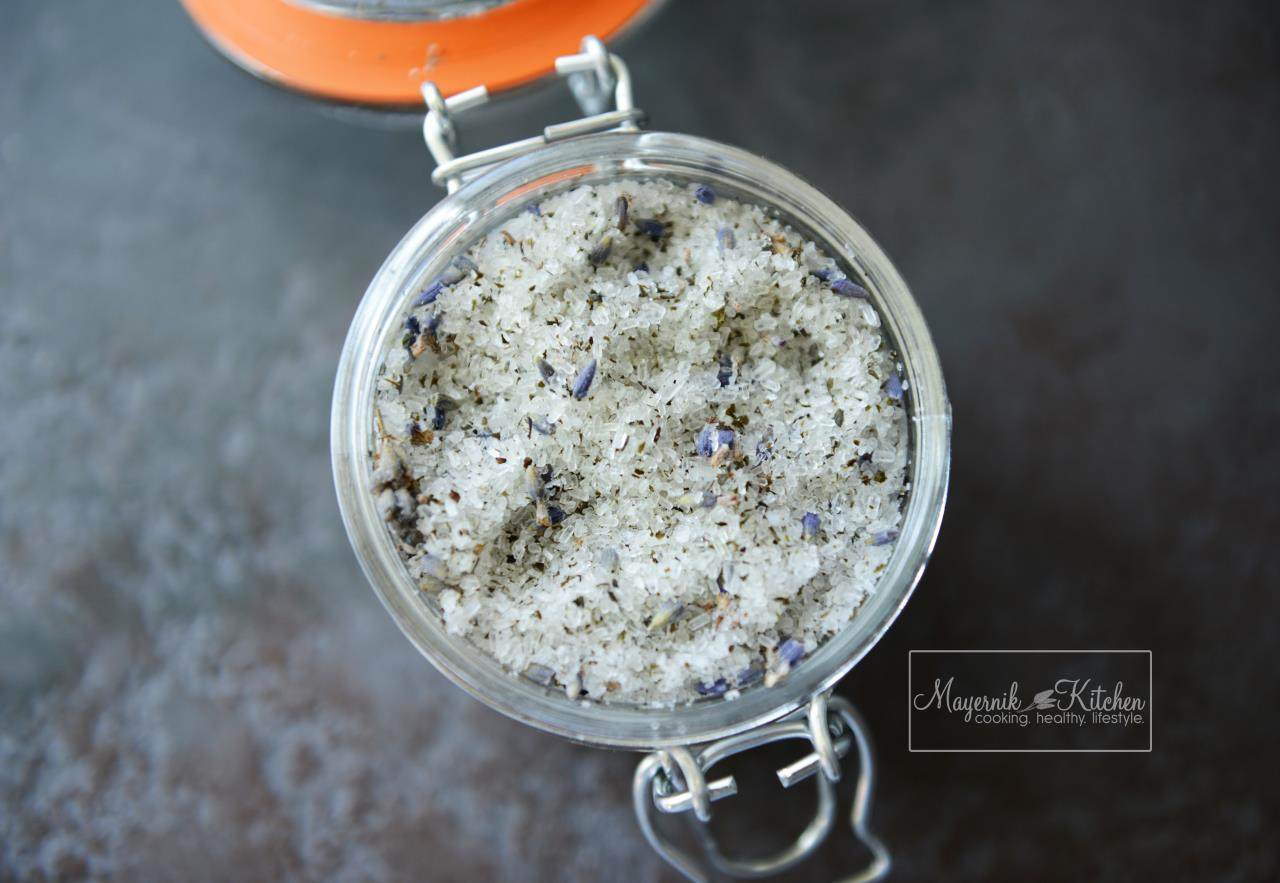 Lavender Green Tea Foot Soak - Mayernik Kitchen #mayernikkitchen