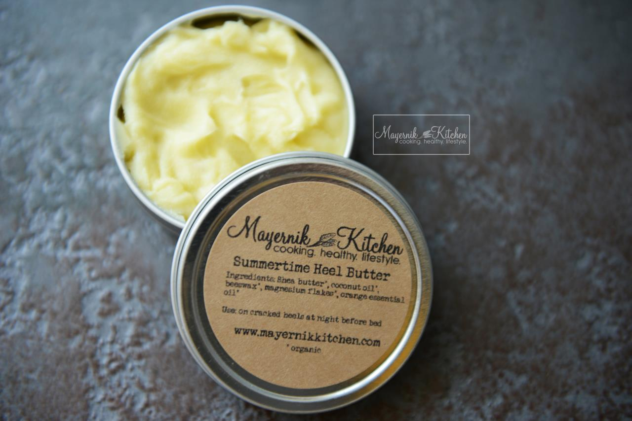 Homemade Summertime Heel Butter - Mayernik Kitchen