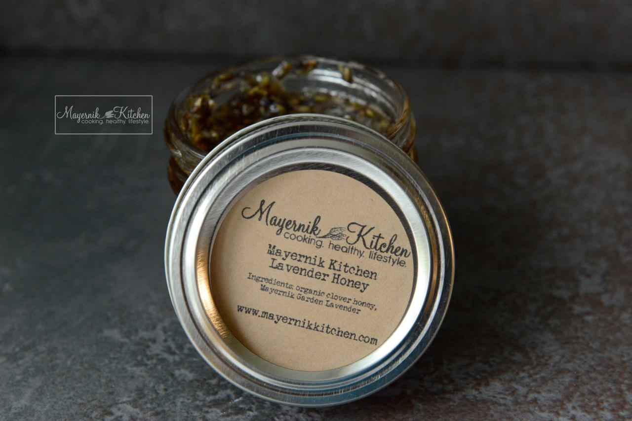 Mayernik Kitchen Lavender Honey - Mayernik Kitchen #mayernikkitchen