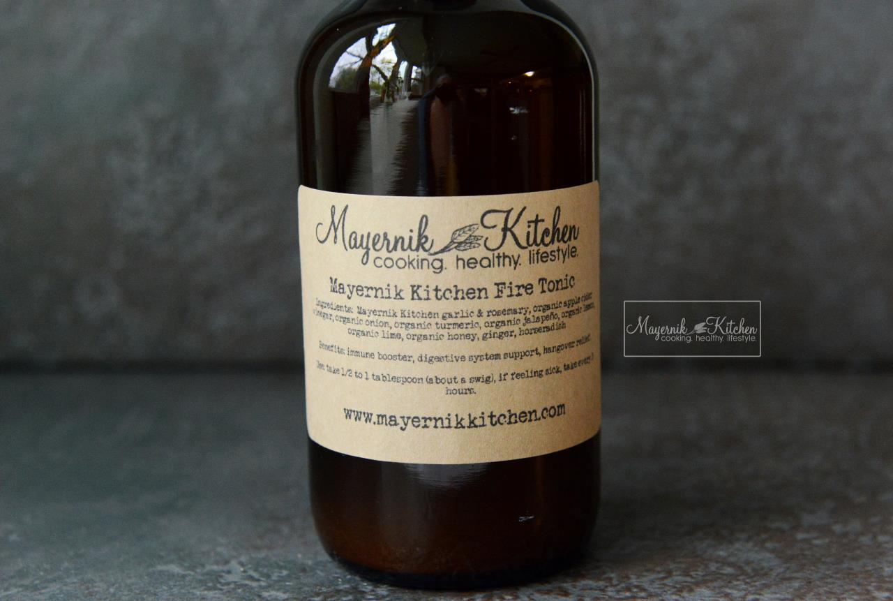 Mayernik Kitchen Fire Tonic - New Jersey - Mayernik Kitchen