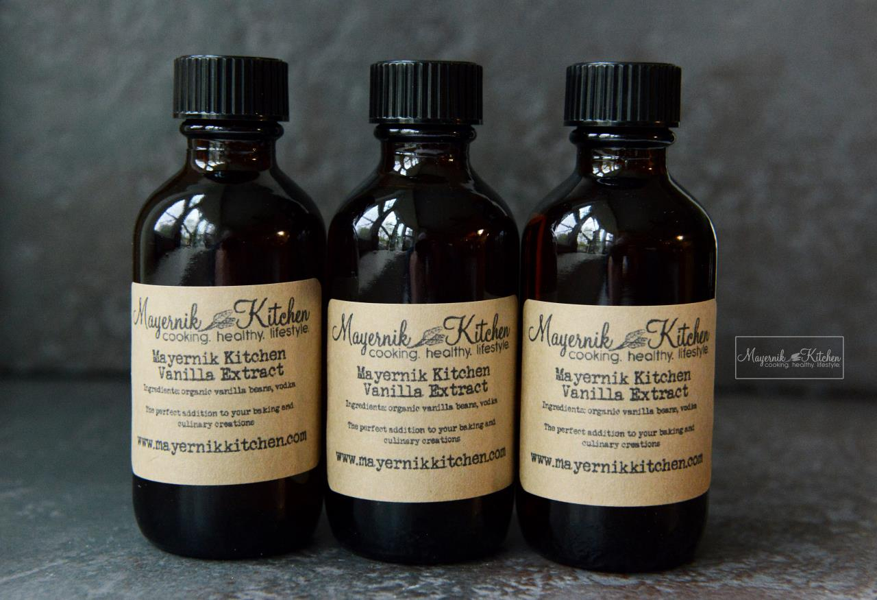 Organic Vanilla Extract - Homemade by Mayernik Kitchen