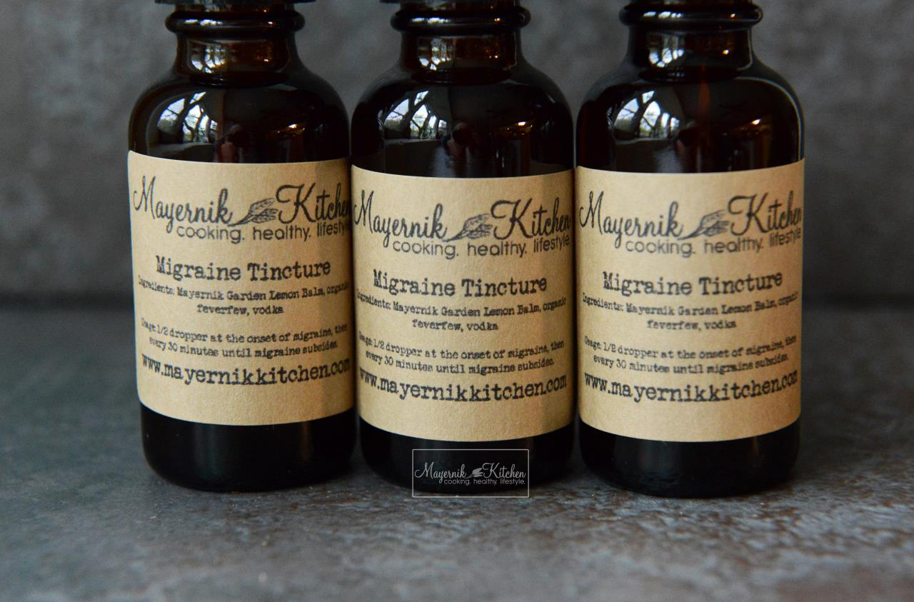 Homemade Migraine Tincture - Mayernik Kitchen