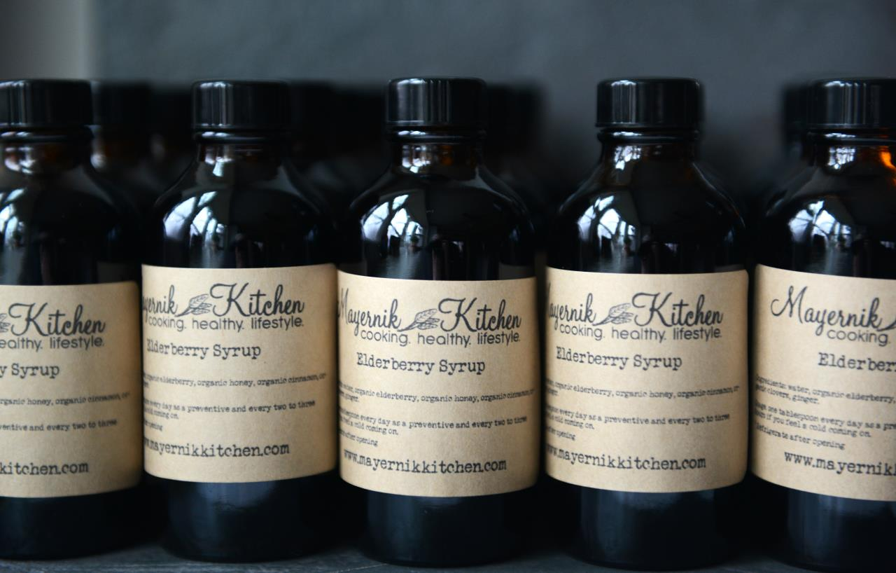Elderberry - Holistic Superfood - Elderberry Syrup - Mayernik Kitchen