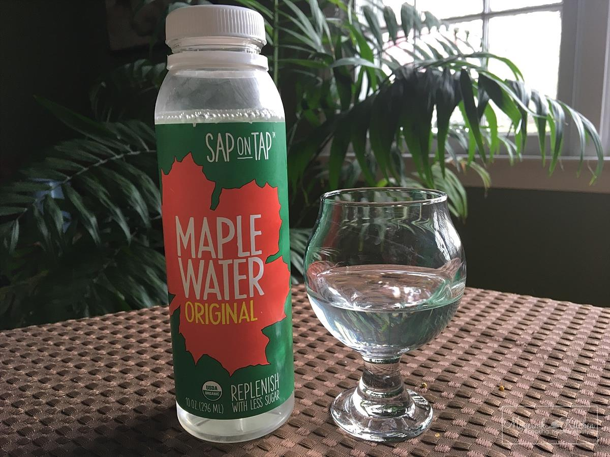 Organic Maple Water - Sap on Tap - Maple Water Tasting