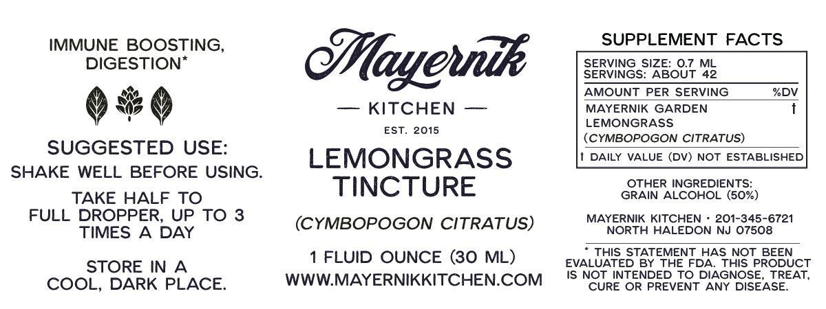 Lemongrass Tincture