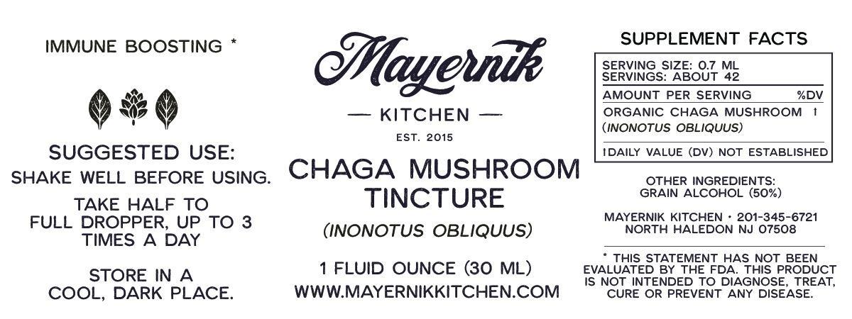 Chaga Mushroom Tincture