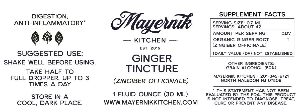 Ginger Tincture
