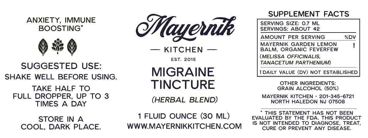 Migraine Tincture