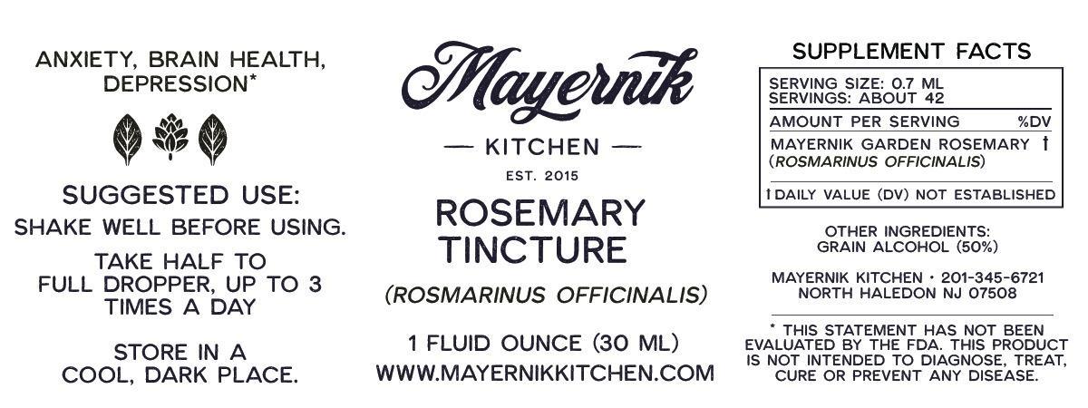 Rosemary Tincture