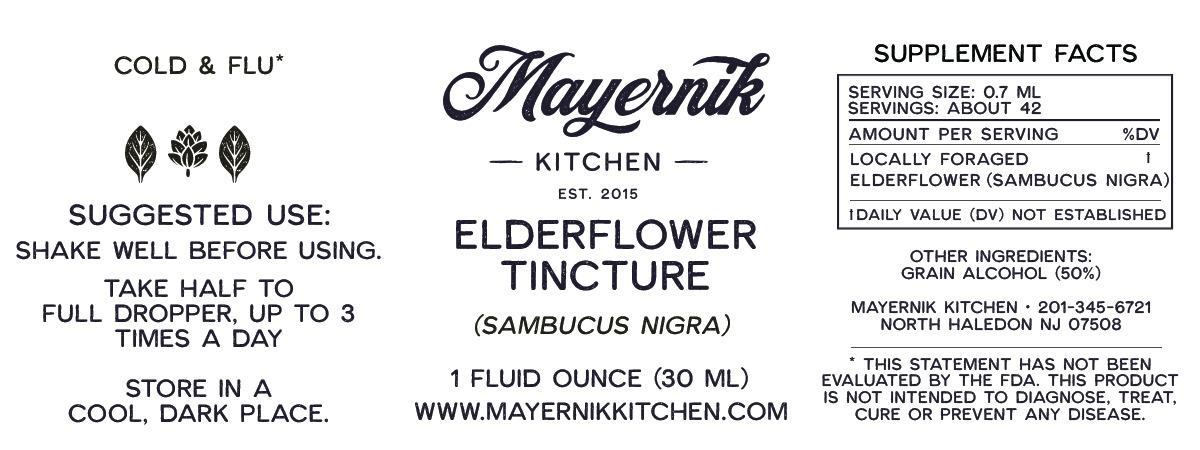 Elderflower Tincture