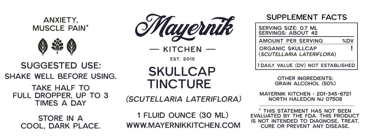 Skullcap Tincture