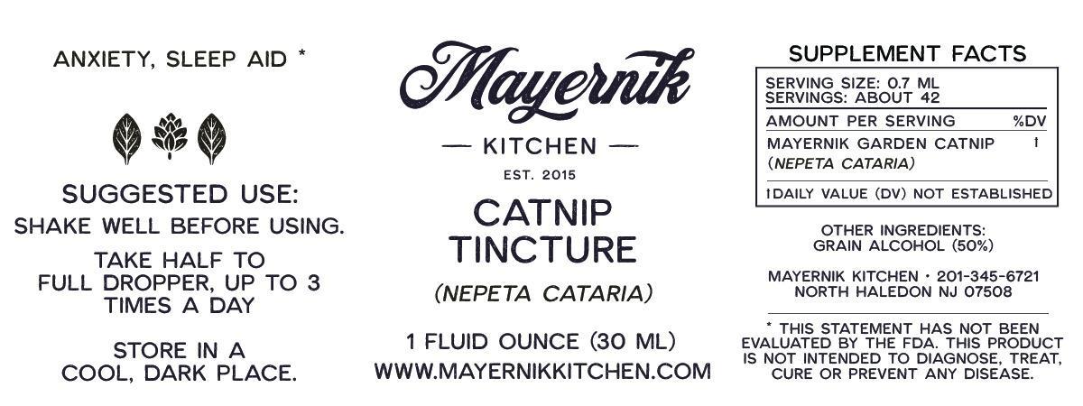 Catnip Tincture