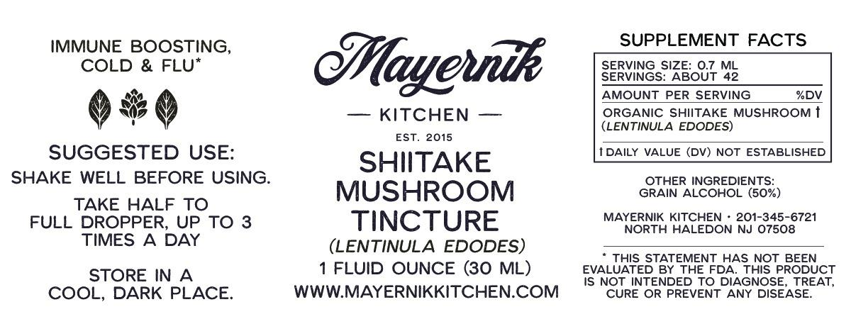 Shiitake Mushroom Tincture