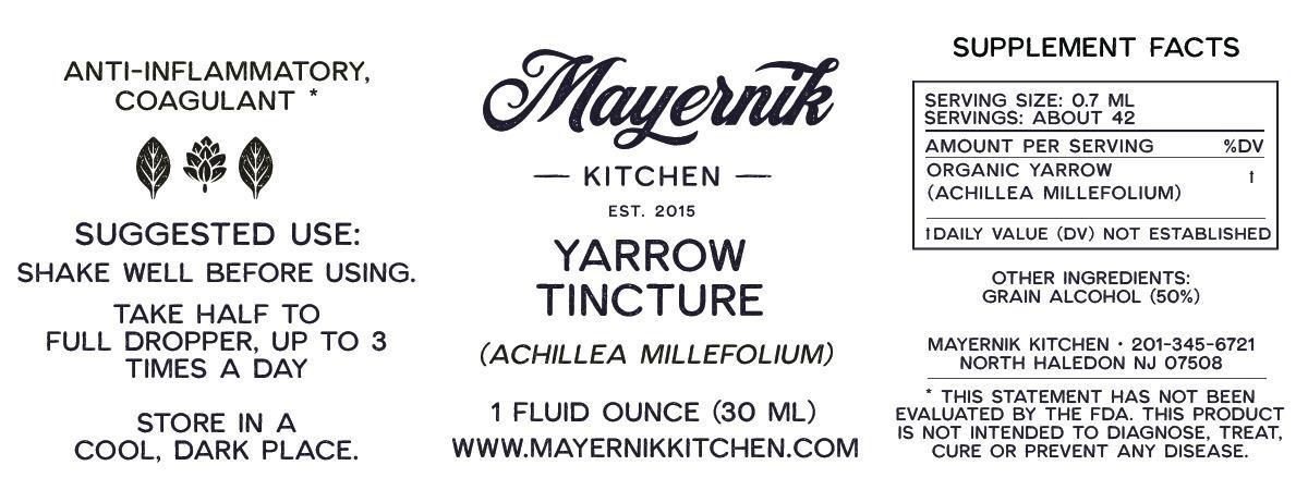 Yarrow Tincture