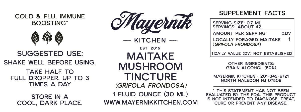 Maitake Mushroom Tincture