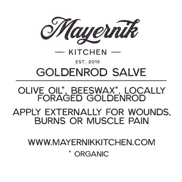 Goldenrod Salve