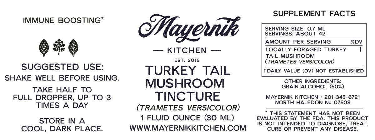 Turkey Tail Mushroom Tincture