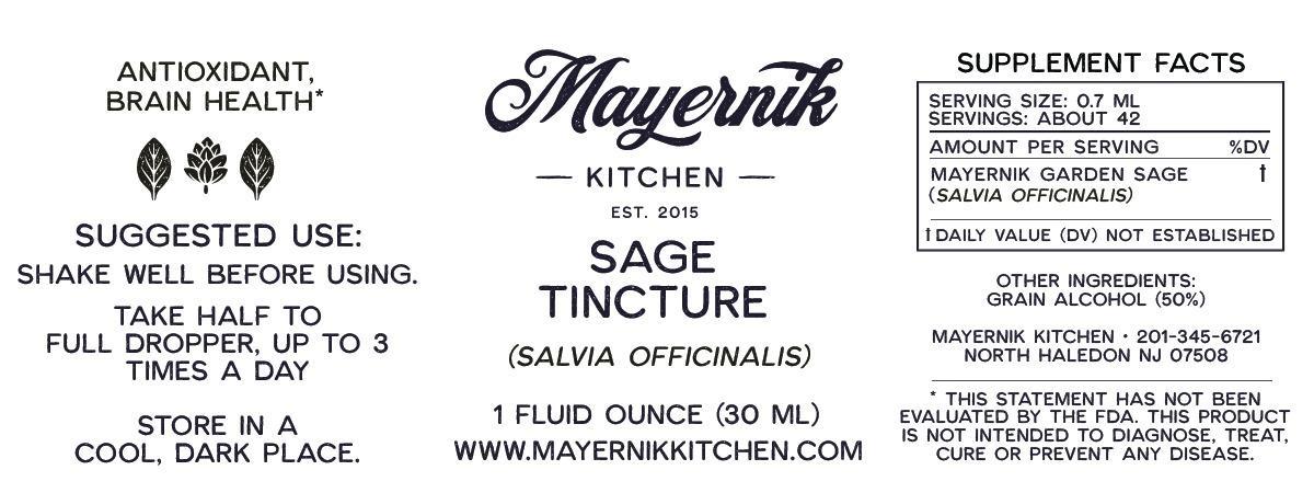 Sage Tincture