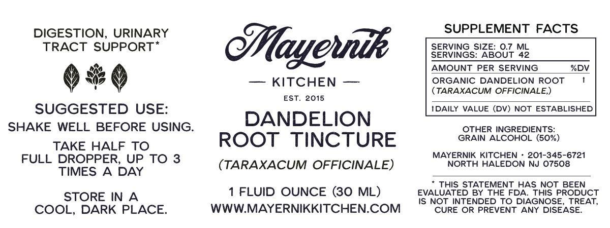 Dandelion Root Tincture