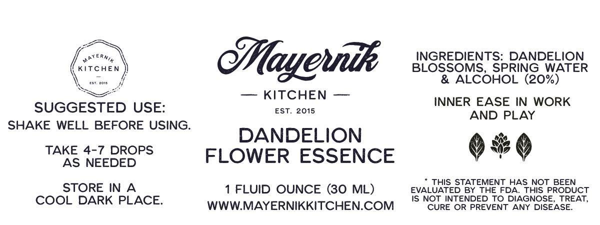 Dandelion Flower Essence