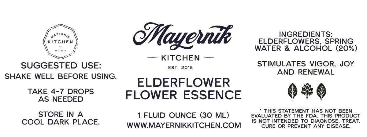 Elderflower Flower Essence
