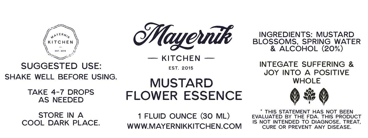Mustard  Flower Flower Essence