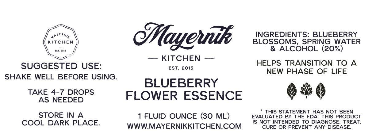Blueberry Blossom Flower Essence