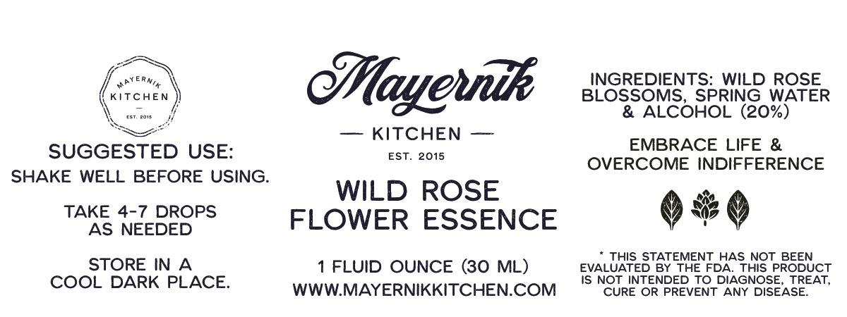 Wild Rose Flower Essence
