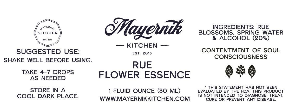Rue Blossom Flower Essence