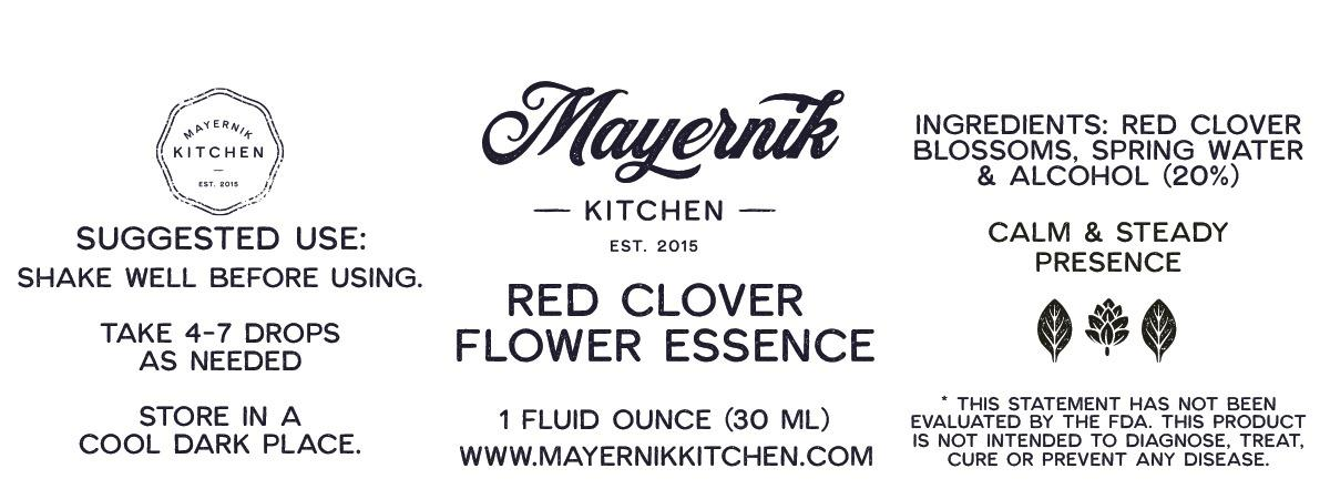 Red Clover  Flower Essence