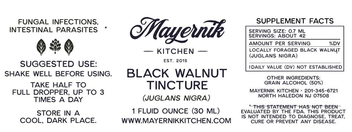 Black Walnut Tincture