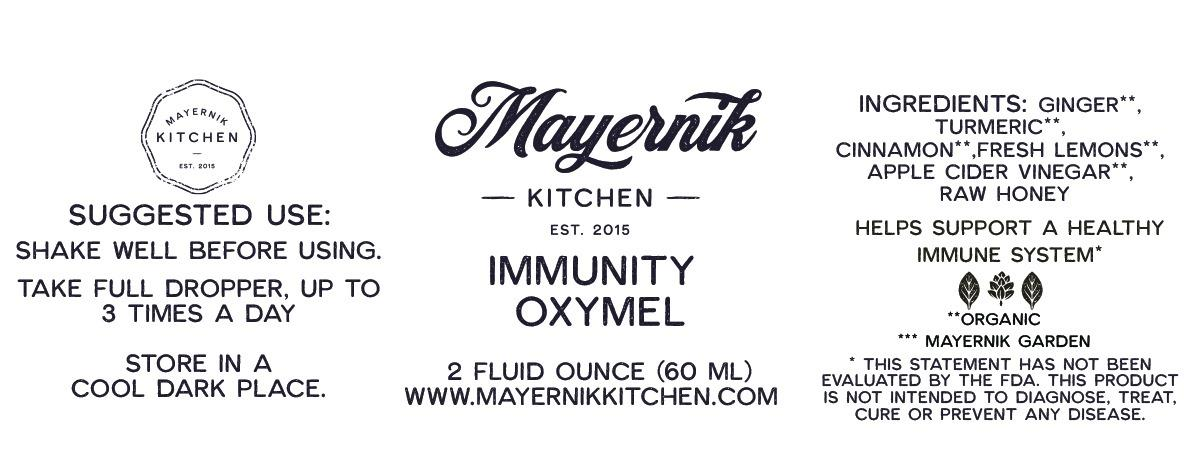 Immunity Oxymel