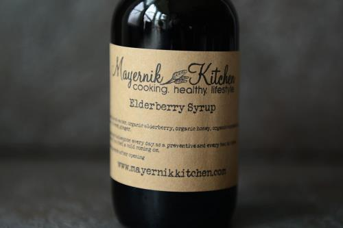 Handcrafted Organic Elderberry Syrup