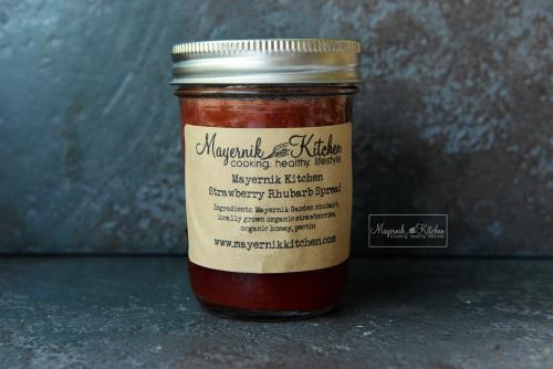 Strawberry Rhubarb Spread