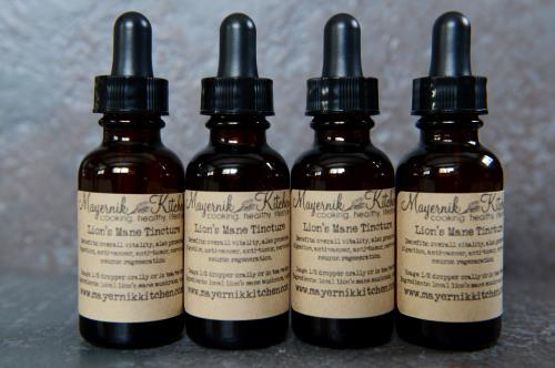 Locally Forged Lion's Mane Tincture