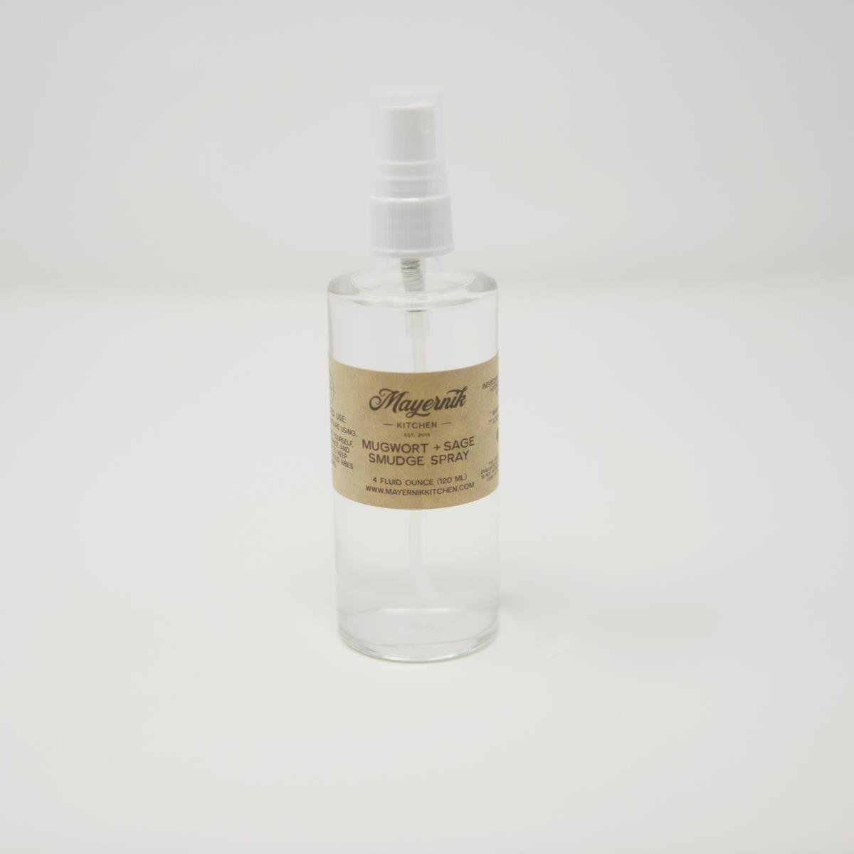 Mugwort Sage Smudge Spray